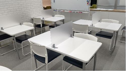 自習室を増やしました。画像